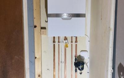 LPG ATAG Combi Boiler Installation